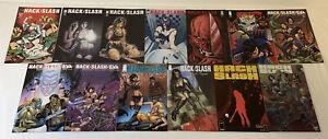 Lote-de-13-Hack-Slash-Comics