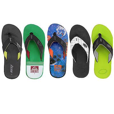 Reef Flip Herren Flops Zehentrenner Zehenstegsandalen Schuhe Schlappen Slipper   eBay