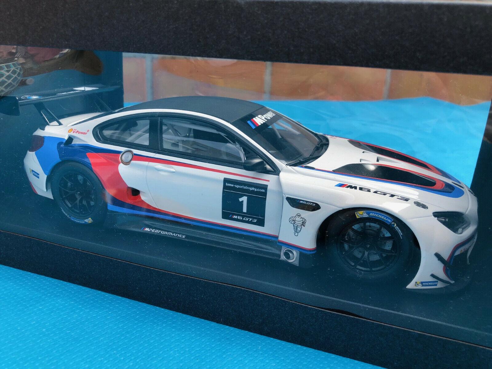 BMW M6 GT3 F13M 2016 DTM  DEALER 1 18 KYOSHO  1  magasins d'usine