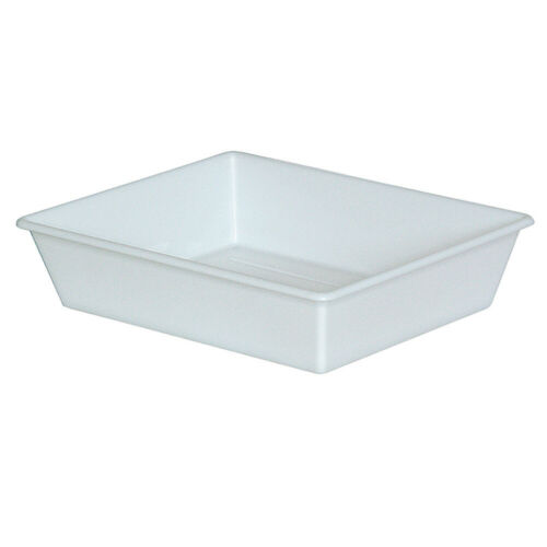 PP Lebensmittelwanne Inhalt 1,1 Liter LxBxH 305//250 x 245//195 x 65 mm weiß