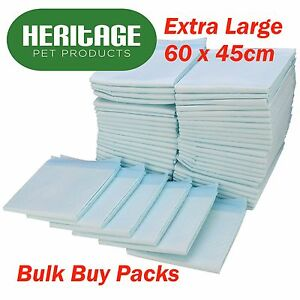 Dog-Puppy-Extra-Large-Training-Pads-Pad-Wee-Wee-Floor-Toilet-Mats-60-x-45cm-200