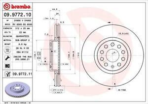 Brembo 09.9772.11 Brake Disc