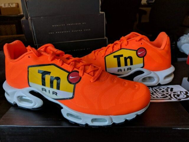 new concept 75d71 4de6a Nike Air Max Plus TN Tuned 1 NS GPX Big Logo Total Orange Black White  AJ7181-800