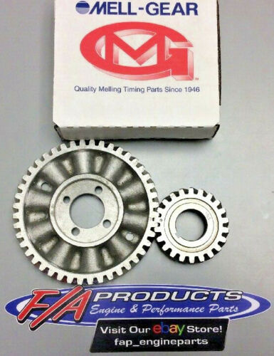 1949 Through 1953 Ford Mercury 239 255 Engines Timing Gear Set Melling 2727S