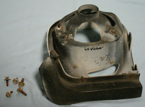 75 76 Vega Astre/' headlight bucket front fender extension grille LH