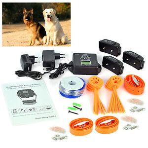 Electronic In Ground Pet Fence Dog Training Collar Fence