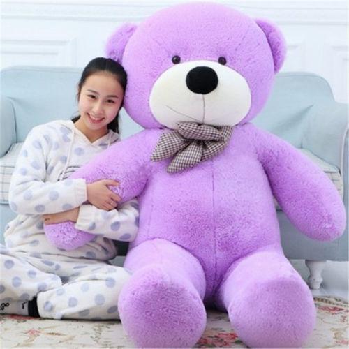 New Large Giant  Big Teddy Bear Soft Plush Toys Kids 80//100//120//140cm  XXL UK