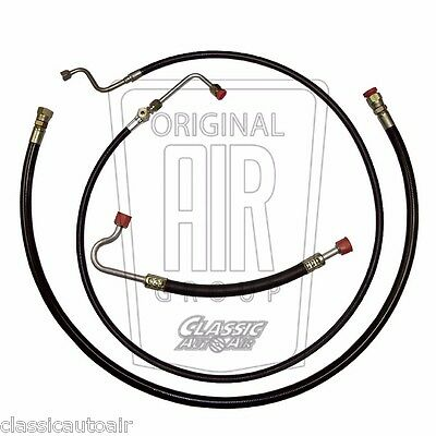Nylon 4pc 1967-1968 MUSTANG COUGAR A//C HOSE SET 390//428 Air Conditioning AC
