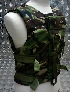 Genuine British Forces Woodland DPM Camouflage Body Vest CBA - Adjustable