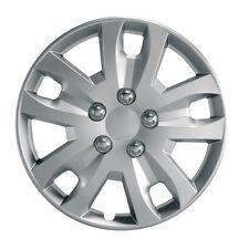 """Gyro 14"""" Car Wheel Trim - SINGLE TRIM - Plastic Cover Silver - Universal"""