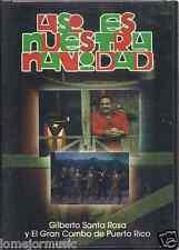 ultra rare dvd ASI ES NUESTRA NAVIDAD Gilberto Santa Rosa y el GRAN COMBO salsa