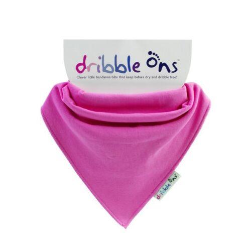 Dribble Ons Bandana Cotton /& Terry Towelling Bib Boys//Girls 4 Pack All Colours