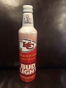 Kansas-City-Chiefs-Bud-Light-Bottle-Super-Bowl-LIV-Limited-Edition
