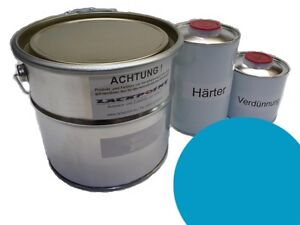 1-Litro-Kit-2k-Pintura-RDA-Azul-Olympia-TRABANT-ANILLO-DE-SAJONIA-Trabi-ifa