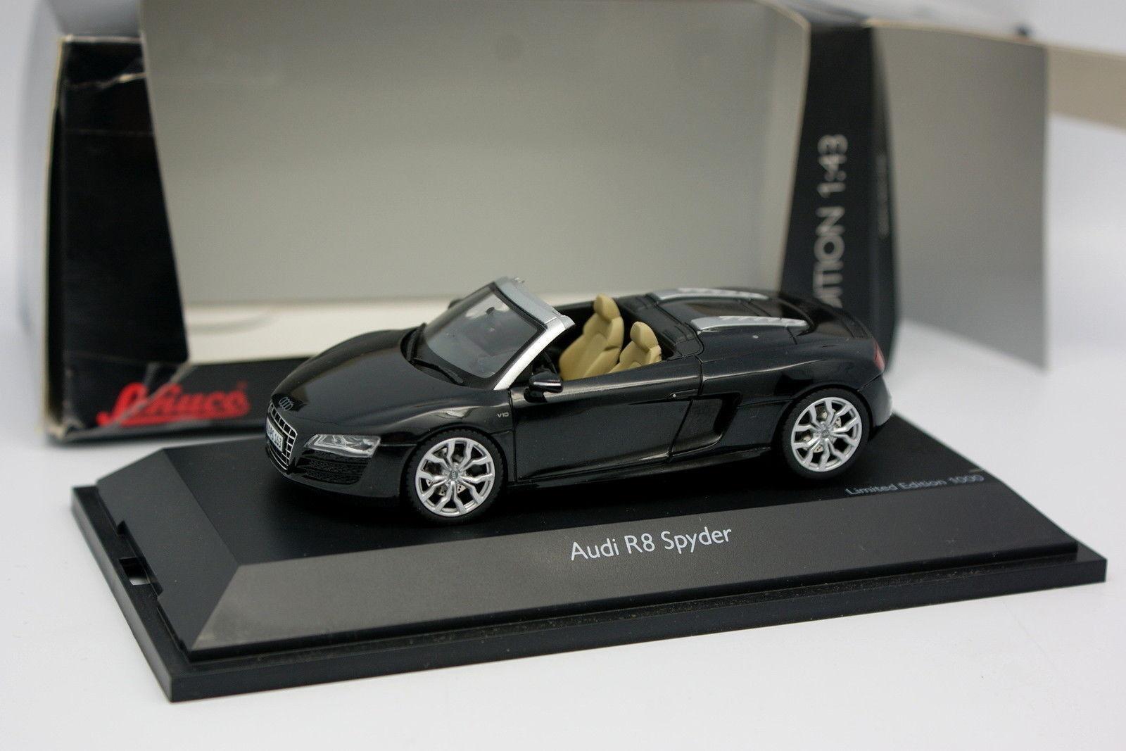 Schuco 1 43 - Audi R8 Spider Noire