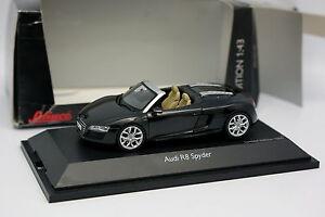 Schuco-1-43-Audi-R8-Spider-Noire