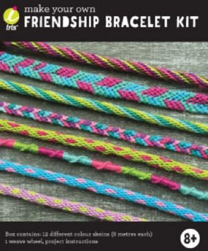 cordones de pelo grano Hacer Su Propio Craft Kits-la amistad envolturas Pulsera