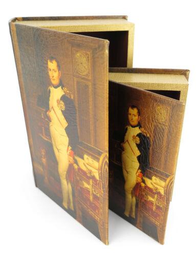 Bücher Versteck NAPOLEON Bonaparte Buch Versteck Schmuckkästchen Buch Imitat