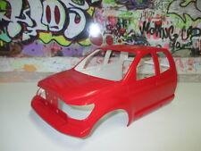 Tamiya 1/10 Tundra High Lift Front Red Body Cab Kit #9335535 OZ RC Models SCX10