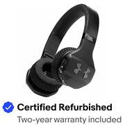 JBL UAONEARBTBLKAM-Z Under Armour Wireless Headphones Blck Certified Refurbished
