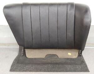 NICE CLEAN USED ORIGINAL PORSCHE 911 912 TARGA BLACK PASSENGERS REAR SEAT BACK 4