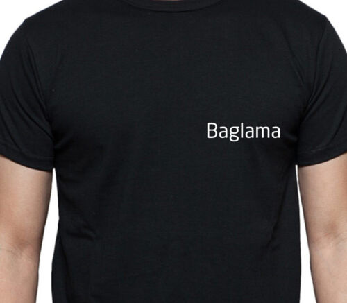 BAGLAMA PERSONALISED POCKET LOGO T SHIRT MUSCIAL INSTRUMENT