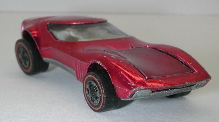 Redline Hotwheels Magenta 1969 Torero oc10483