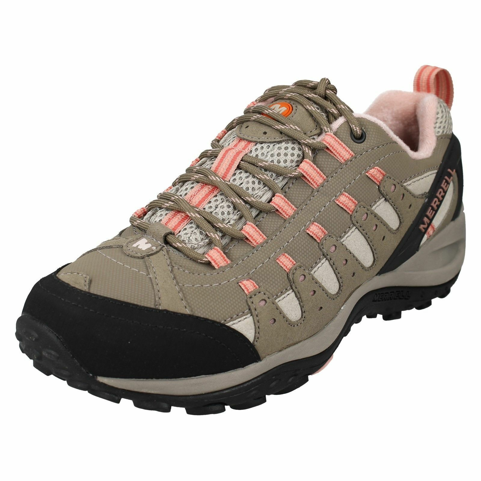 MERRELL DESERT J18010 LADIES LACE UP WALKING TRAINERS OUTDOOR CASUAL Schuhe