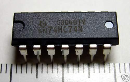 RoHS TI 74HC74 10pc DIP IC SN74HC74N