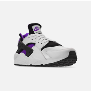 e653647e667b11 Nike Air Huarache Run  91 QS OG White Black Purple Punch AH8049 001 ...