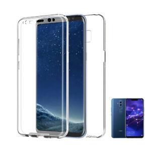 Huawei-Mate-20-Lite-6-039-3-034-funda-360-Doble-cara-delantera-Trasera-Rigida-carcasa