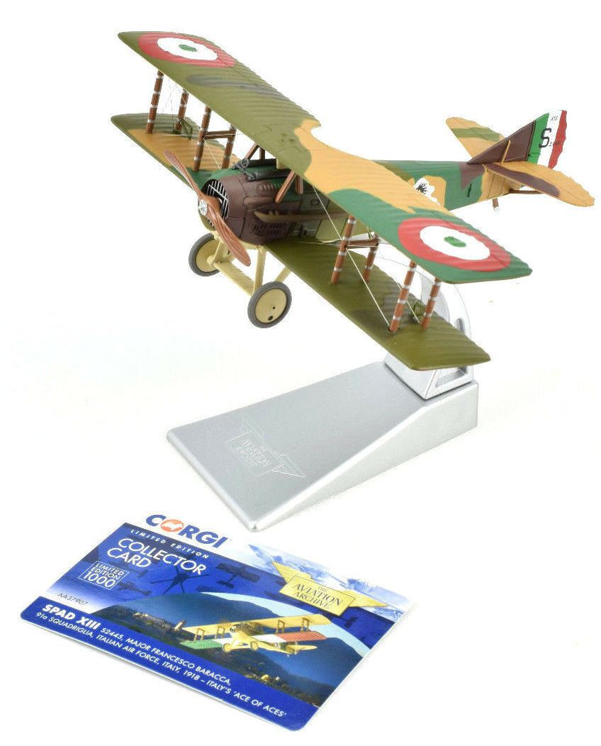 Corgi Spad XIII - 's  Aces Of Aces  1 48 Die-Cast Airplane AA37907