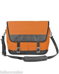 3784e4a54464 Image is loading Arrow-Canvas-Leather-Snapshot-Shoulder-Messenger-Bag-Orange -