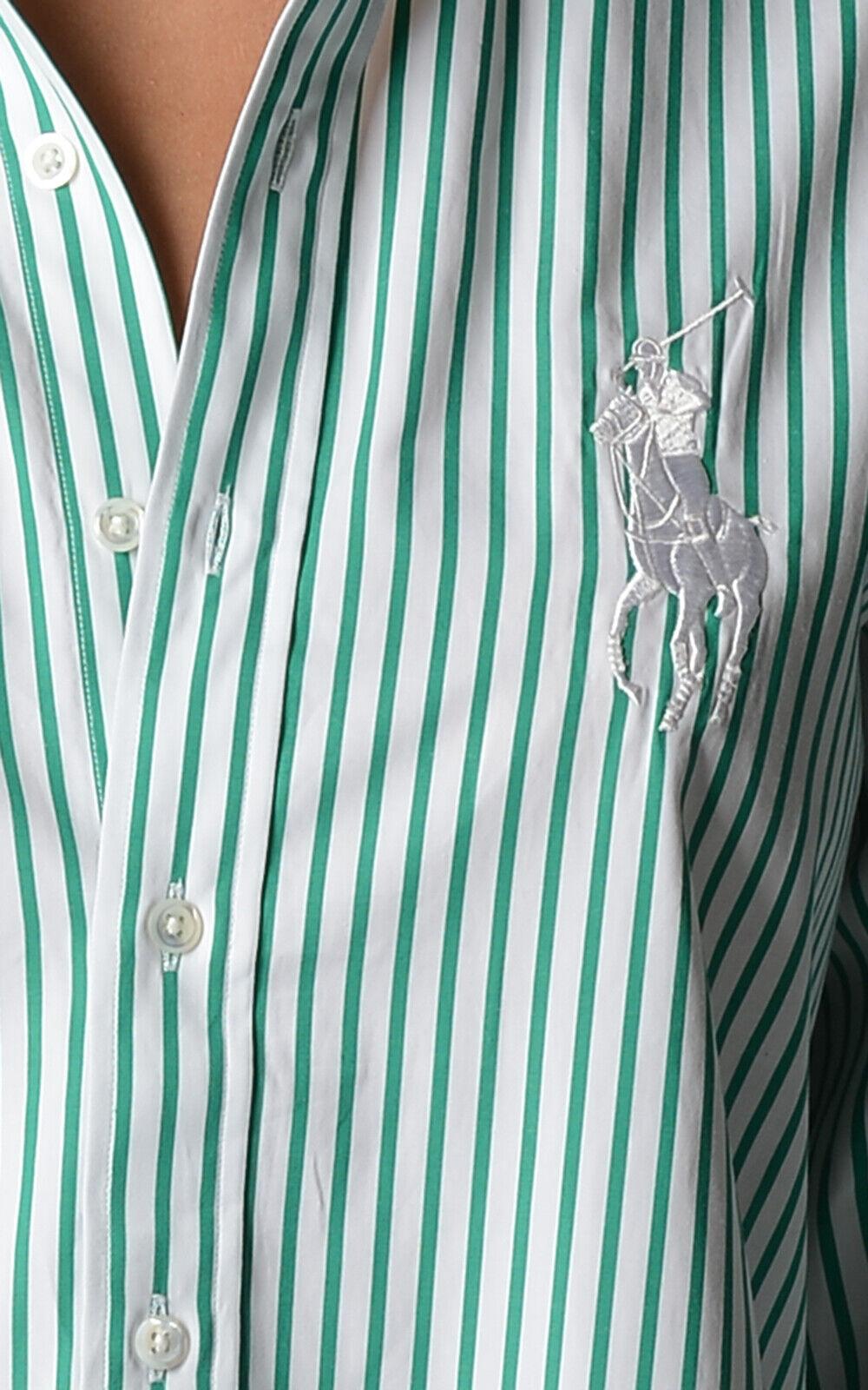 Ralph Lauren Woherren Shirt Größe 6 Big Pony schwarz label Collection Gift For Her