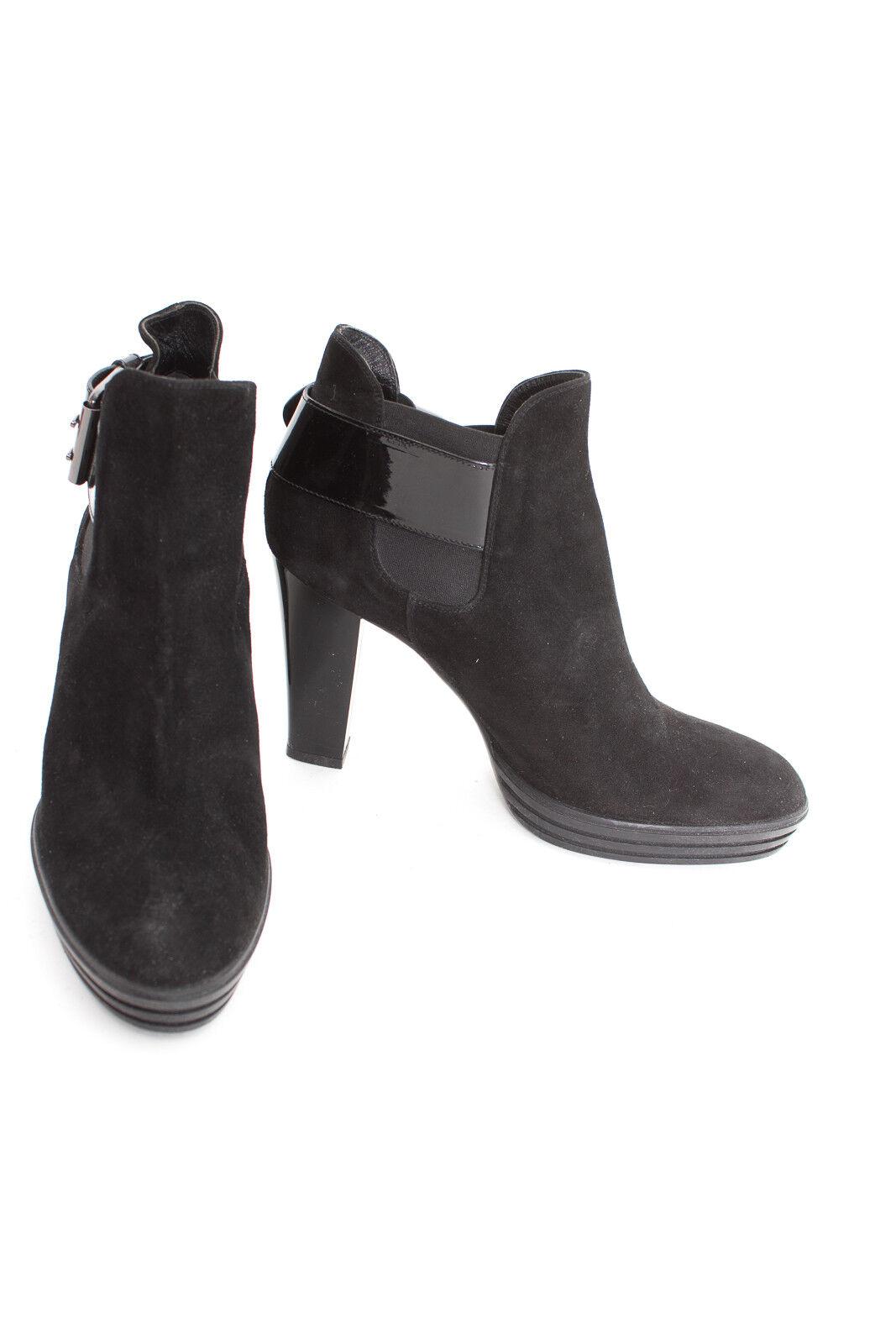 Hogan botines talla de 41 negros señora zapatos cuero