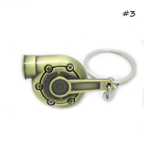 Echter Pfeifton Spinning Turbine Schlüsselanhänger Ring Mode\