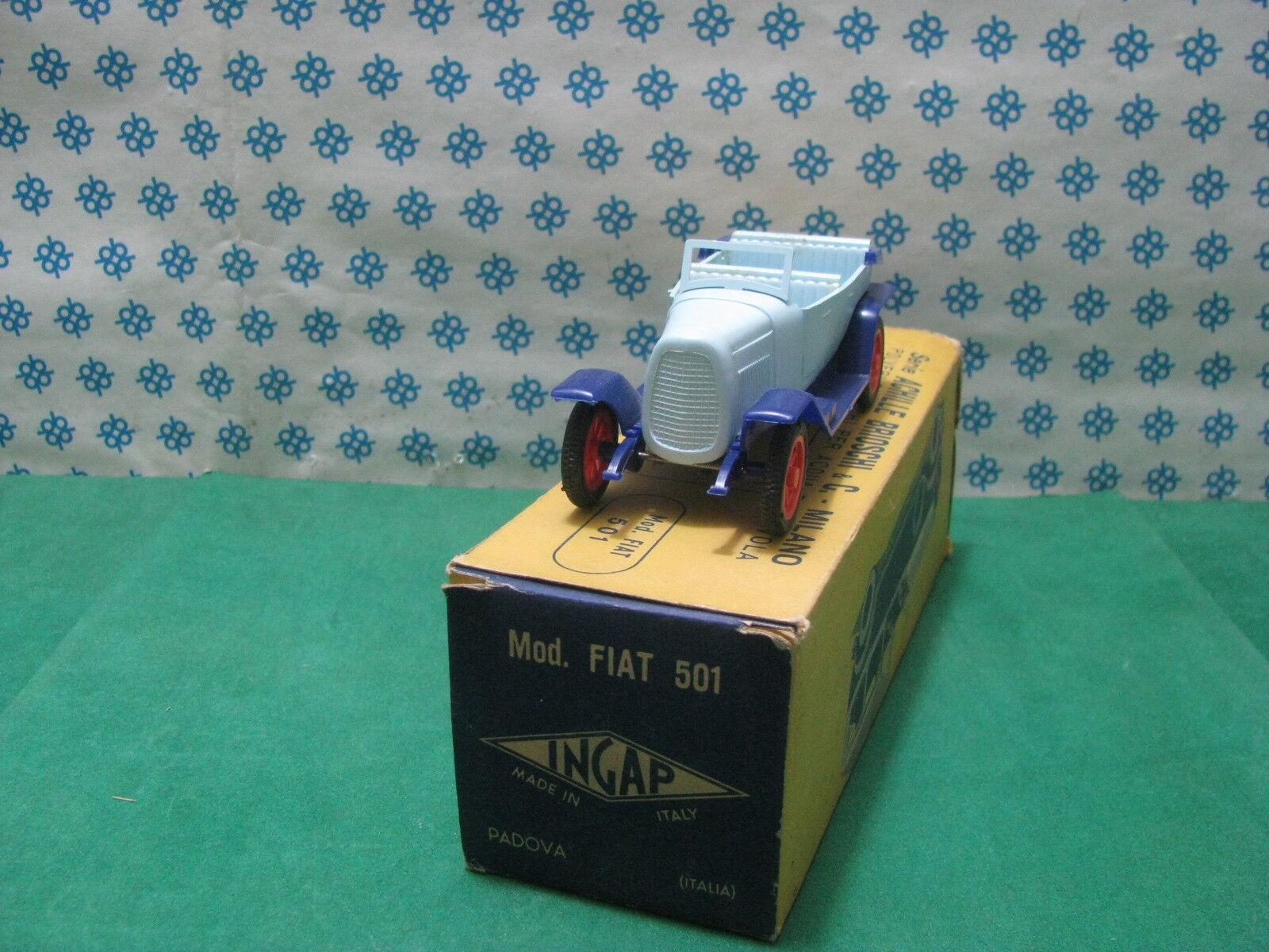RARE Vintage  -  FIAT mod.501 aperta - 1 32 Ingap in scatola originale