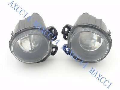 Pair Front bumper Driving Fog Light Lamps For BMW E5 X5 1999-2004