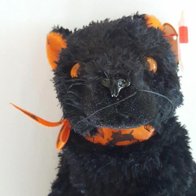 MWMT Ty Beanie Baby ~ FRAIDY the Black Cat 6 Inch