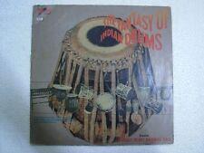 VIJAY RAGHAV RAO THE FANTASY OF INDIAN DRUMS  1980 LP CLASSICAL INSTRUMENTAL EX