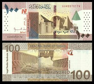 Sudan-100-Pounds-2019-P-NEW-UNC