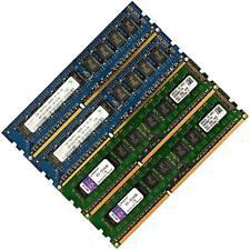 Memory RAM 4 Desktop/Microserver DDR3 PC3 10600 1333MHz 240 UDIMM ECC Unbuffered