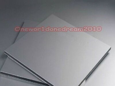 1 Piece Titanium Ti Titan Grade 5 Gr.5 ASTM B265 Plate Sheet 4mm x 60mm x 60mm