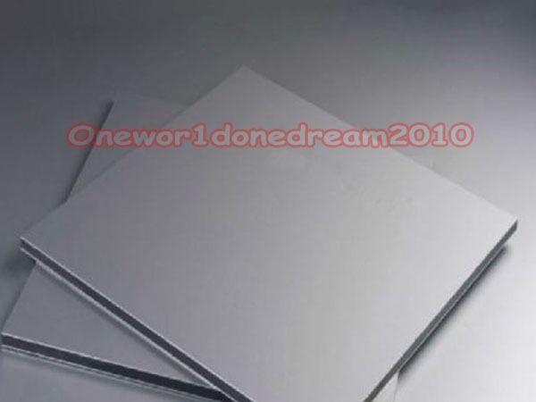 Titanium plate Ti Titan Gr.5 Gr5 Grade 5 Platte Sheet 2 x 100 x 100 mm
