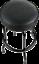 """fender guitars 30"""" blackout logo bar stool vinyl padding #9100323606"""