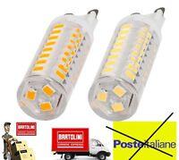 Lampadina G9 Lampada 5W 2835 SMD 48 LED Bianco Caldo AC220-240V SU063
