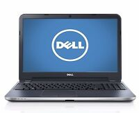 "DELL INSPIRON I15RM-7564SLV I7-3537U 2.0GHZ 8GB 1TB DVDRW 15.6"" LAPTOP PC"
