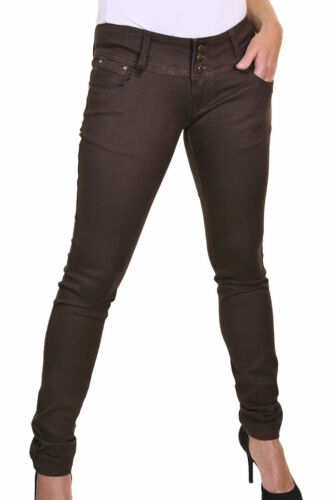 Smart Super Skinny Ultra Low Rise Stretch Jeans Brown size 8