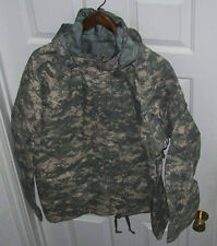 NEW~GORE-TEX, LARGE/SHORT ARMY GEN II PARKA, COLD WEATHER UNIVERSAL CAMOUFLAGE