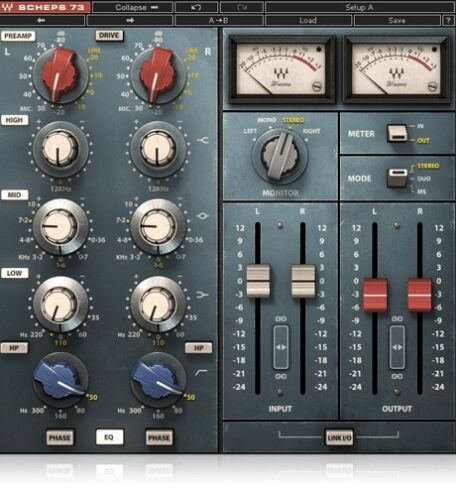 Waves Scheps 73 Neve 1073 EQ Channelstrip Emulation AAX 64 RTAS VST AU Preamp